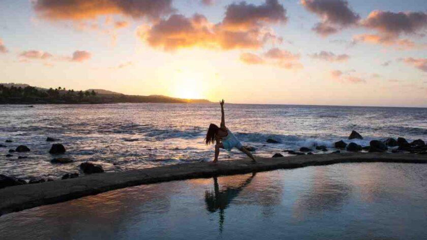 Comment faire la roue yoga